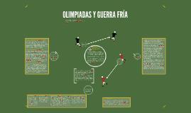 OLIMPIADAS Y GUERRA FRÍA