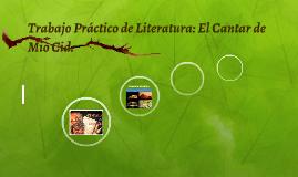 Trabajo Práctico de Literatura: El Cantar de Mio Cid.