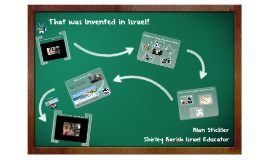 CBSW - HS Learning - That was Invented in Israel?
