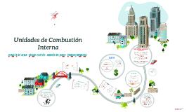 UNIDADES DE COMBUSTIÓN INTERNA
