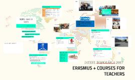 ERASMUS + COURSES FOR TEACHERS