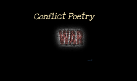 Copy of Conflict Poetry