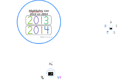 Highlights van 2013 en 2014