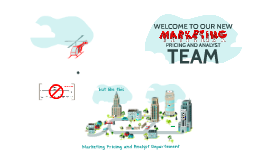 Marketing Pricing and Analyst Team
