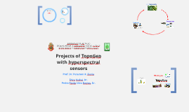Projects of Topogeo with hyperspectral sensors