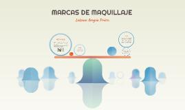 MARCAS DE MAQUILLAJE