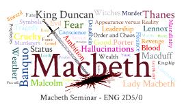 Copy of Loyalty in Macbeth