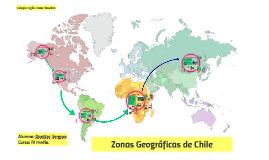 Zonas Geográficas de Chile