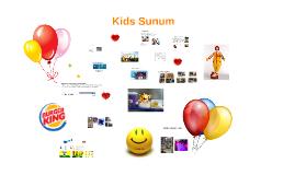 Kids Sunum