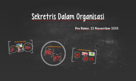 Sekretris Dalam Organisasi
