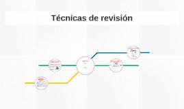 Técnicas de revisión