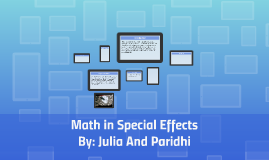 Math in Special Effects