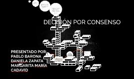DECISION POR CONSENSO