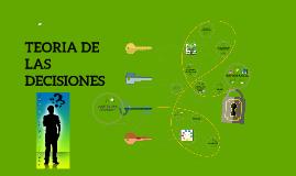 Copy of TEORIA DE LAS DECISIONES