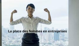 La place des femmes en entreprise
