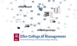 Eller College Honors Pre-Business Meeting for Freshman
