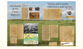 Officer and and Native American Munnitions and Tactics