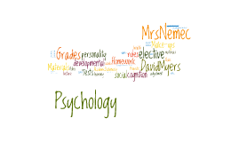 Psychology Syllabus