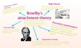 bowlbys theory of attachment Over the past decade, researchers have found that bowlby's attachment theory (1973, 1988) has important implications for counseling and psychotherapy (cassidy.