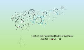 Copy of Unit 1: Understanding Health & Wellness