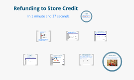 How to process store credit