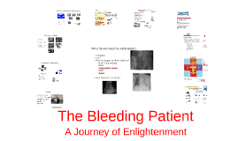 The Bleeding Patient