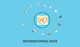 INTERNATIONAL DAYS