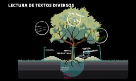 LECTURA DE TEXTOS DIVERSOS