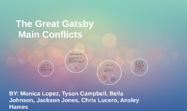 Copy of The Great Gatsby Main Conflicts