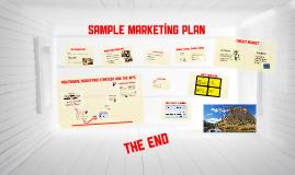 BU 8501: Sample Marketing Plan