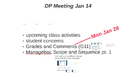 DP Meeting Jan 14