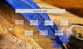 Journal- 1768