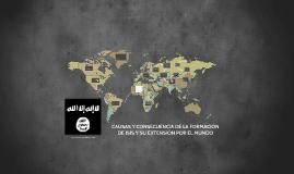 Copy of CAUSAS Y CONSECUENCIA DE LA FORMACIÓN DE ISIS Y SU EXTENSIÓN