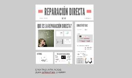 REPARACION DIRECTA