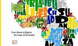 From Ghana to Nigeria: music of the people