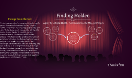 English FOA: Finding Holden