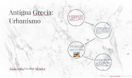 Antigua Grecia: Urbanismo