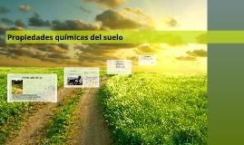 Copy of Propiedades quimicas del suelo