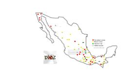 Lenguas en peligro de extinción en México I Mapa I www.proyectodiez.mx