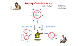 Creating a Virtual Classroom
