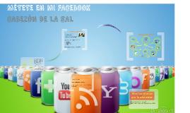 """Métete en mi Facebook"" Plan de comunicación Cabezón de la Sal"