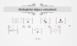 Biologické objavy minulosti
