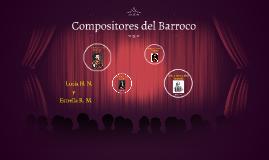 Compositores del Barroco