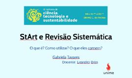 StArt e Revisão Sistemática