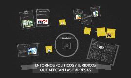 Copy of ENTORNOS POLITICOS Y JURIDICOS QUE AFECTAN LAS EMPRESAS