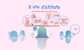 Il sito d'istituto