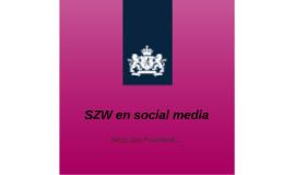 SZW en social media