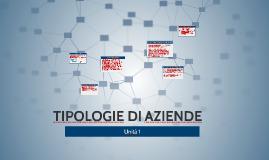 TIPOLOGIE DI AZIENDE