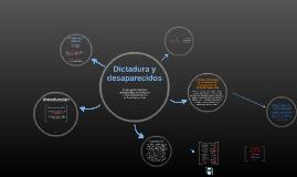 Dictadura y desaparecidos