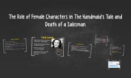 The Role of Female Characters in The Handmaid's TaleThe Hand
